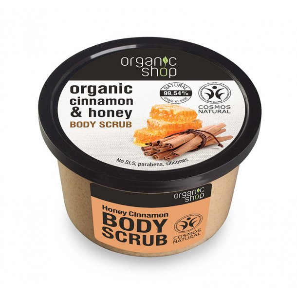 Organic Honey Cinnamon & Sugar Body Scrub